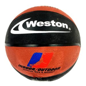 Weston WB1000 basketball Size 7 black brown