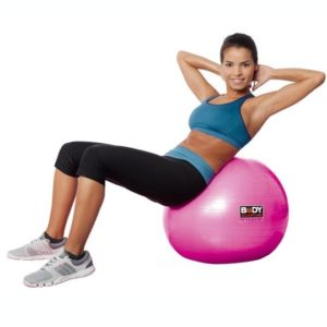 "Body Sculpture 22"" PVC Gym Ball Pink"