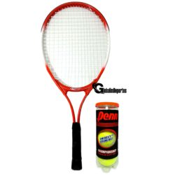 """Weston Children's Tennis Racquet 23"""" Age 7-8 with can of 3 balls"""