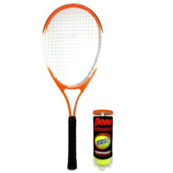 """Weston Children's Tennis Racquet 25"""" Age 8-9 with can of 3 balls"""