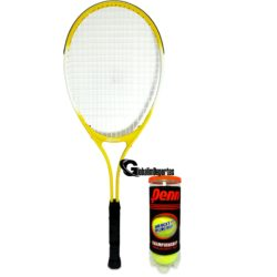 """Weston Children's Tennis Racquet 27"""" Age 9-12 With Can of 3 balls"""