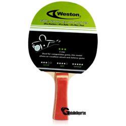 Weston 3 Star Table Tennis Racket