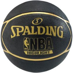 Spalding Highlight Gold Basketball Rbr Size 29.5""