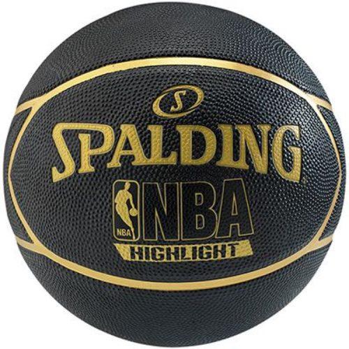 "Spalding Highlight Gold Basketball Rbr Size 29.5"""