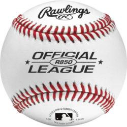 Rawlings Official League Practice R850 Baseballs 1DZ