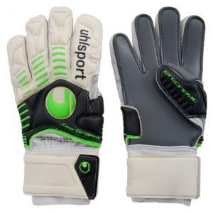 Uhlsport ergonomig super graphit mens goalkeepers gloves size 10.5