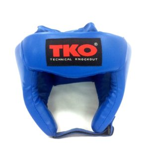 TKO Boxing Head Guard Protector Youth Blue