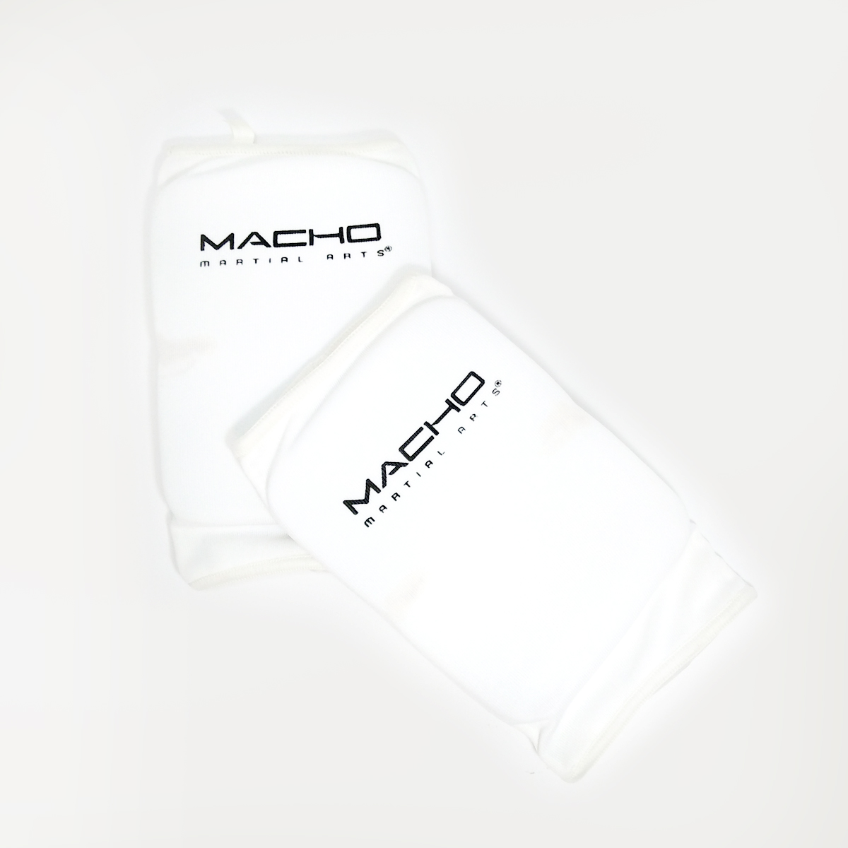 Macho Cloth Elbow Guard White Adult pair