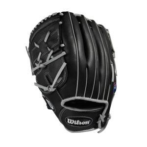Wilson A360 Baseball Glove 12 Inches RHT Black Silver