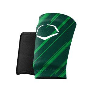 EvoShield MLB Protective Speed Stripe Wrist Guard Green