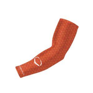 EvoShield EvoCharge Compression Arm Sleeve Adult Orange S/M