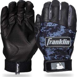 Franklin Sports Youth MLB Digi Camo Batting Gloves Black