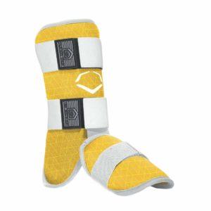 EvoShield EvoCharge Batter's Leg Guard Adult Yellow