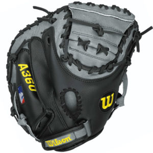 Wilson A360 Baseball Youth Catchers Mitt 32.5 Inches Right Hand Throw