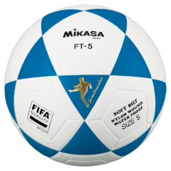 Mikasa FT5 Goal Master FIFA Soccer Ball Size 5 Official FootVolley Ball Blue