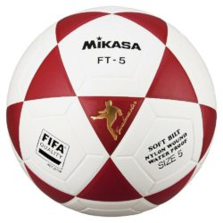 Mikasa FT5 Goal Master FIFA Soccer Ball Size 5 Official FootVolley Ball Red
