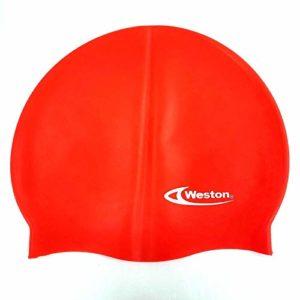 Weston Silicon Adult Swim Cap Assorted Colors