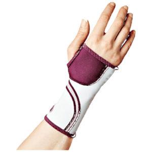 Mueller Lifecare for Her Contour Wrist Plum