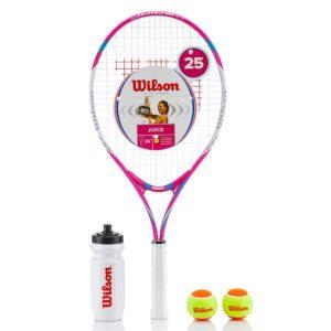 Wilson Juice Junior Tennis Racket Starter Set 25 - 3 7/8 Inches