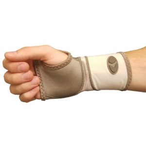 Mueller Life Care Contour Wrist Support Sleeve Taupe