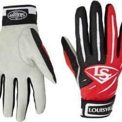 Louisville Slugger BG Series 5 Batting Glove Adult Scarlet Pair