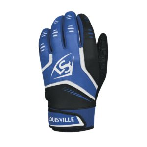 Louisville Slugger Omaha Youth Batting Gloves Royal Blue