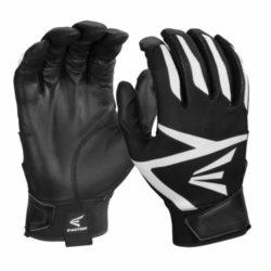 Easton Z3 Hyperskin Adult Batting Gloves Black Small Pair
