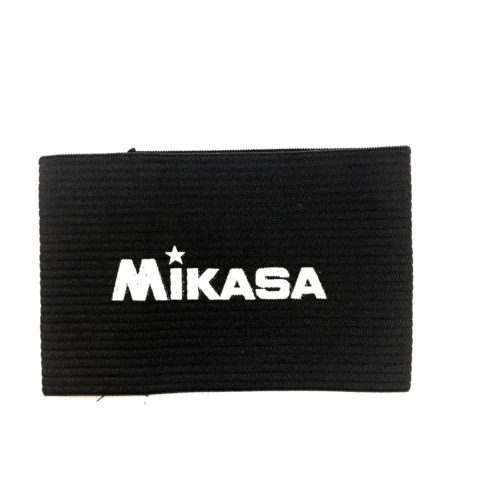 Mikasa Sports Soccer Captain Arm Bands - Adult Black