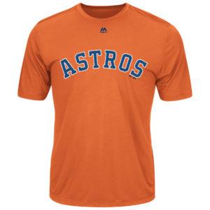 Majestic MLB Astros Adult Evolution Tee T-Shirt