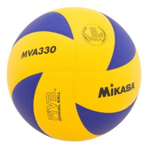 Mikasa Spiral Club Volleyball Blue Yellow