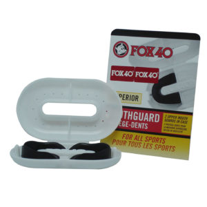 FOX 40 Supeior Mouhtguards With Case Black