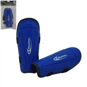 "Weston Youth Shin Guard Soccer 7"" Royal Pair"