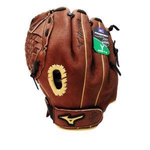 Mizuno Prospect Powerclose Baseball Glove 11 Inches LHT (Glove goes in right hand)