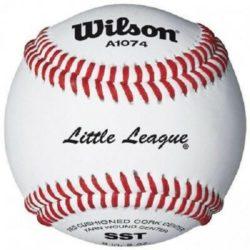 Wilson A1074 BLL1 Little League Baseballs 1 Dozen