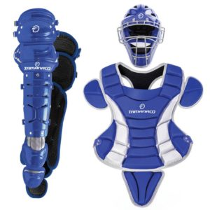 Tamanaco Baseball/Softball Catchers Gear Adult Set Royal