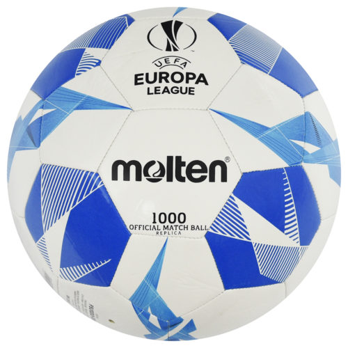 Molten UEFA Europa League Soccer Ball Official Series 1000 Blue