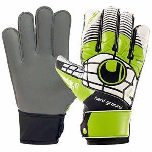 Uhlsport eliminator starter graphit youth goalkeepers gloves size 8