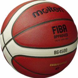 """Molten B7G4500 Composite FIBA Basketball Official Size 7 - 29.5"""""""