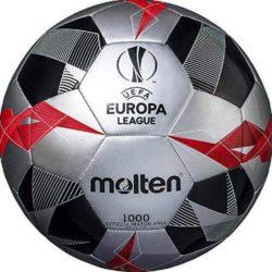 Molten UEFA Europa League Soccer Ball Official Series 1000 Silver