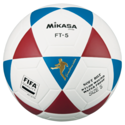 Mikasa FT5 Goal Master Soccer Ball Size 5 Official FootVolley Ball Blue Red