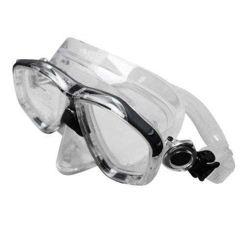 Aquatek Adult CARIBBEAN II Swimming Mask Silver
