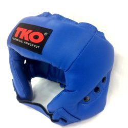 TKO Boxing Head Guard Protector Adult Blue