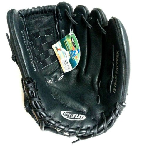 Proflite PG1200 Leather Baseball Youth Glove 12 Inches RHT
