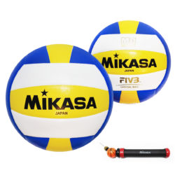 Mikasa MV4PC Official Volleyball Size 4 With Manual Pump