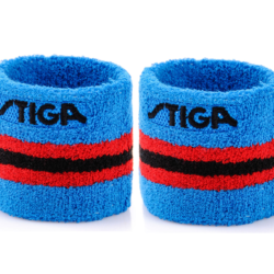 Stiga Table Tennis Ping pong Wristband One Size Blue -Sold by Pair