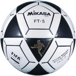 Mikasa FT5 Goal Master Soccer Ball Footvolley Ball Size 5 Black