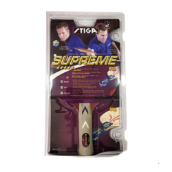 STIGA Supreme Performance-Level Table Tennis Racket made with ITTF Approved