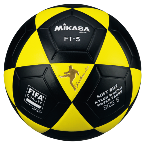Mikasa FT5 Goal Master Soccer Ball Size 5 Official FootVolley Ball Yellow Black
