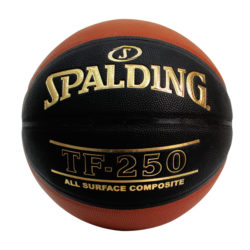Spalding TF250 Basketball Brick Black Size 6 - 28.5""