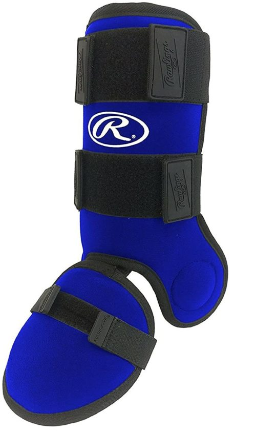 Rawlings Baseball Softball Hitters Leg Guard Blue